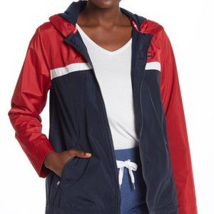 Tommy Hilfiger Red White Blue Hooded Zip Jacket